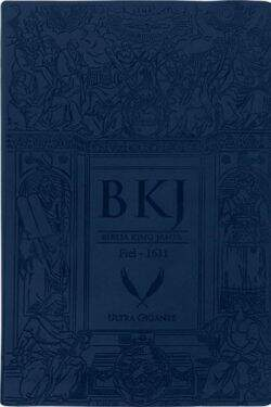 Biblia King James Fiel-1611 Ultra Gigante Azul