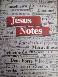 Caderno de Anotacoes de Sermoes Jesus Copy Yeshua