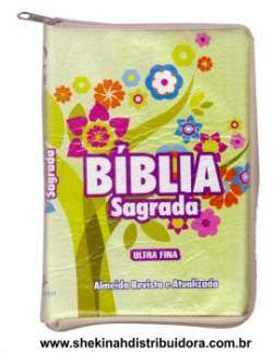 Biblia Sagrada Modelo Ultra Fina Verde Colors RA (Preco Exclusivo e Imbativel)