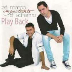 Cd Ze Marco e Adriano Impactante (Somente Play Back)